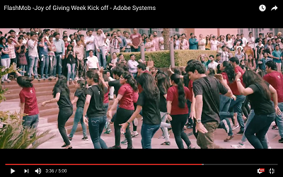 Flash Mob @ Adobe
