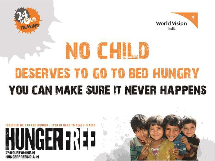 Hungerfree 24hour famine #faminefighter