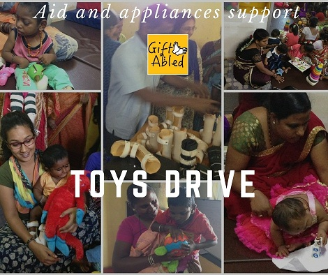 GiftAbled- Toy Collection Drive