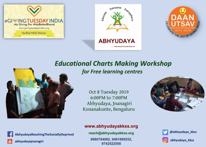 Educational Charts Making Workshop